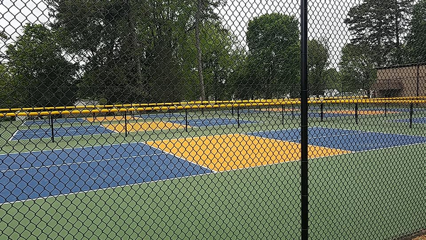 COG New Tennis Courts